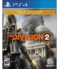 Tom Clancy's The Division 2 Gold Steelbook Edition